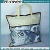fashion cheap clear waterproof zipper pvc quilt packing bags