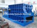Q43w-4000a de residuos de chatarra de metal de corte hidráulico de la máquina equipo
