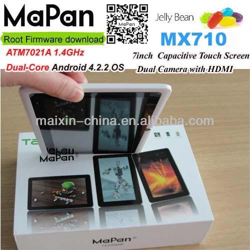 mx710mapandualcoreแท็บเล็ต7นิ้วหุ่นยนต์รุ่นใหม่ล่าสุดที่มี