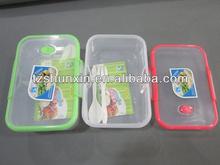 sandwich box plastic transparent lunch box for school