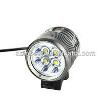 UGOE CE ROHS cool case 3000lumen cree 4 x XML-L2 automatic dynamo led bike light