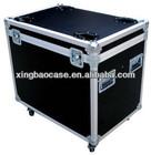 black aluminium hard tool case transporant case