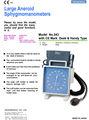Doctor real de los bienes de la sangre de manómetro de presión no. 543, equipo médico hecho en japón.