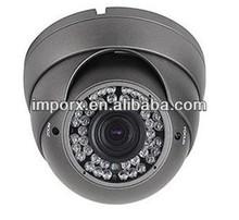 Vandalproof dome cctv product, hd 1MP kamera ip