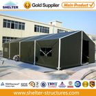 Useful military tent garage with hard structure