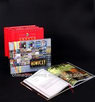 China OEM paper hardbound books printing companies