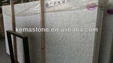 Chinese carrara white marble threshold