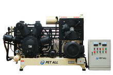 PET-1.3/30W Three stage water cooling air compressor