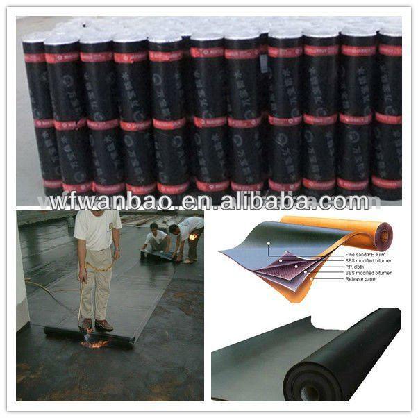 APP/SBS Bitumen Waterproofing Membrane for Roof