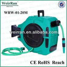 (73604) portable automatic retractable handy car washing hose reel