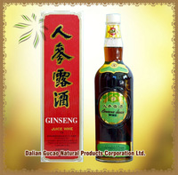 Soft Drink Good Quality Ginseng Juice Wine/Fruit Wine
