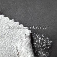 spandex pongee and polar fleece bonded fabric
