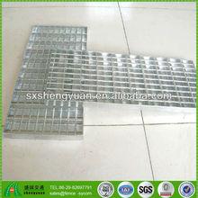 galvanized twisted square platform mild steel cross bar grating