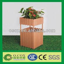 New Material Wood Plastic Composite WPC Flower Pot
