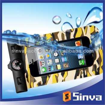 New fashion custom Logo Print Waterproof Dry Bag For iphone 5 5s OEM