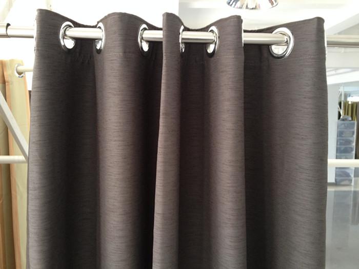 wide width blackout fabric modern decorative blackout curtain