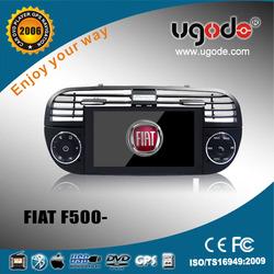 "6.2\ "" Fiat 500 car DVD player with GPS radio bluetooth DVD"