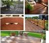 outdoor interlocking plastic floor tiles,DIY decking 300mm*300mm