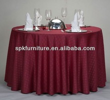plastic pvc dining table cover