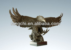 2014 New Arrival Gift Art Deco Bronze Eagle Sculpture TPAL-033
