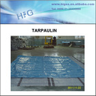 Best sale 100% new PE Tarpaulin blue pe flame-retardant fabric,transparent tarpaulin