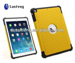 100% Perfect Fit 3 in 1 Hybrid Plastic Case For ipad Air/ipad 5 Diamond Case Luxury