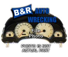 Subaru IMPREZA 2001 Speedometer Head /Cluster