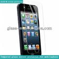 2014 boa venda para o iphone 5/c/s vidro temperado tela protetor design com preços de fábrica