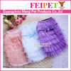 Colorful lace wholesale dog dress dog clothes mixed colors