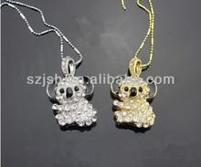 Koala jewelry diamond usb flash drive