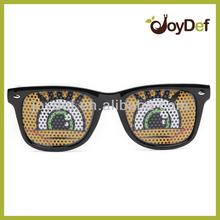 Logo Lens Wayfarer Sunglasses Wholesale Cartoon Eye Design