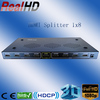 China made 1x8 HDMI RCA Splitter to hdmi and component Splitter
