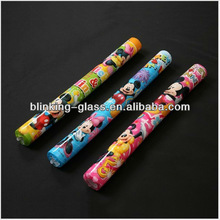 Cheering LED flashing colorful foam baton stick for Concert Performance