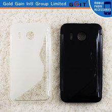 S Shape Gel TPU Case for Huawei Y320, TPU cover