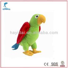 Custom made plush parrot tweety bird plush toy