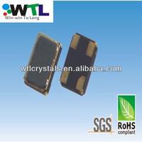 WTL quartz crystal Seam Sealed Ceramic 3.2*2.5mm 38.000MHz smd crystal oscillator