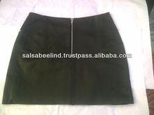 Sheep Leather Made Skirt
