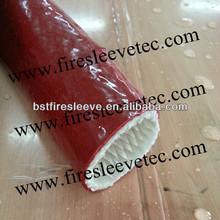 Fire Sleeving Knitted High Bulk Glass Fiber Sleeve