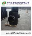 tubería de acero de carbono unión apropiado
