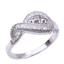 Wholesale white gold plated 925 sterling silver jewelry reseller