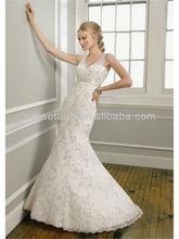 HT732 Sweet white collar, packet buttock fishtail wedding dressFor Bride wedding dress