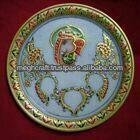 Marble decorative Pooja Thali - Wedding return gift - Diwali corporate Gift - Decorative Diya thali