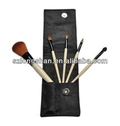 2013 best professional beauty needs travelling 5pcs makeup brush set