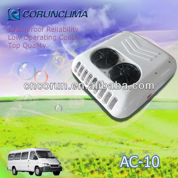Hot Sale 12V/24V Rooftop Mounted Sprinter Van Cooling System for Cooling 5.5~6m Van/miniBus AC10 10KW 34100Btu With R134a