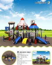 2014 high quality ,best design children outdoor playground equipment