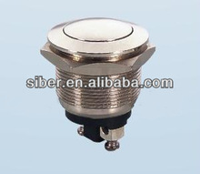 electrical wiring push button metal switch