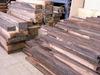Ebony logs and sawn timber, black wood sawn timber ( ebony )