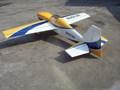 madera de balsa 100cc rc modelo de avión de gran escala modelo de avión de fibra de vidrio rc modelo de avión slick540