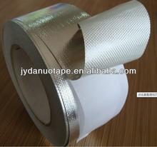 Fire Proof adhesive Aluminum Foil Coating Fiberglass Cloth Insulation Tape