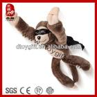 Best kid toy for 2014 stuffed flying animal brown monkey new soft toys wholesale stuffed monkey plush flying monkey